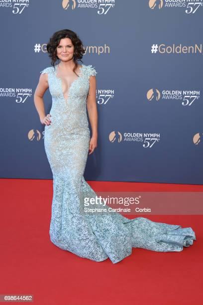 Heather Tom attends the 57th Monte Carlo TV Festival Closing Ceremony on June 20 2017 in MonteCarlo Monaco