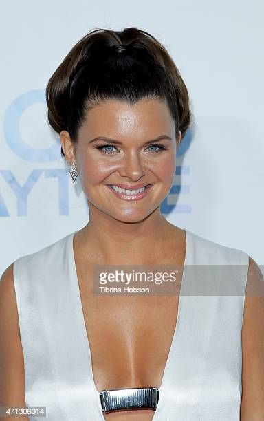 Heather Tom attends the CBS Daytime Emmy after party at Hollywood Athletic Club on April 26 2015 in Hollywood California