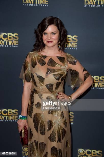 Heather Tom attends the CBS Daytime Emmy After Party at Pasadena Civic Auditorium on April 30 2017 in Pasadena California