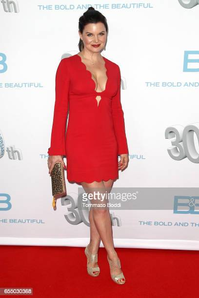 Heather Tom attends the CBS's 'The Bold And The Beautiful' 30th Anniversary Party at Clifton's Cafeteria on March 18 2017 in Los Angeles California
