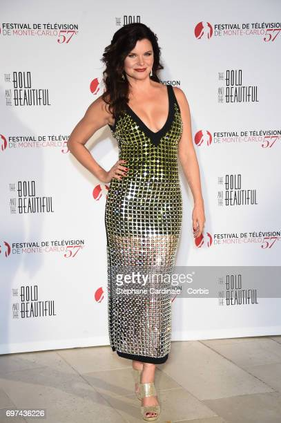 Heather Tom attends the 'The Bold and The Beautiful' 30th Anniversary during the 57th Monte Carlo TV Festival Day 3 on June 18 2017 in MonteCarlo...