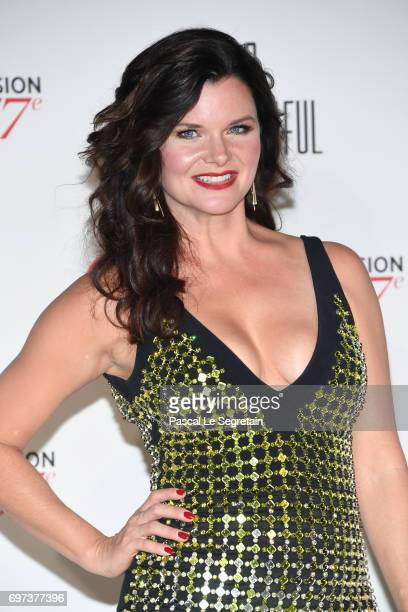 Heather Tom attends the 'The Bold and The Beautiful' 30th Years anniversary during the 57th Monte Carlo TV Festival Day 3 on June 18 2017 in...