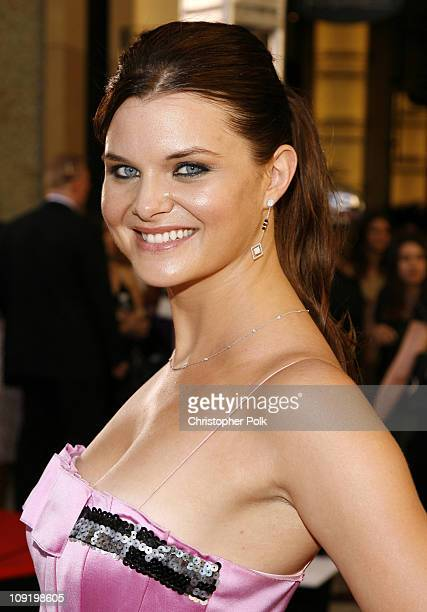 Heather Tom during 34th Annual Daytime Emmy Awards Red Carpet at Kodak Theatre in Hollywood California United States