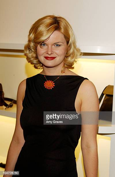 Heather Tom during Agnes B Hosts Jon One Event at Agnes B in West Hollywood California United States