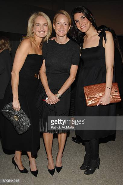 Heather Vandenberghe Blair Lawson and Amy Erbesfeld attend LOUIS VUITTON Launch Party for the RICHARD PRINCE Handbag Collection cohosted by THE...