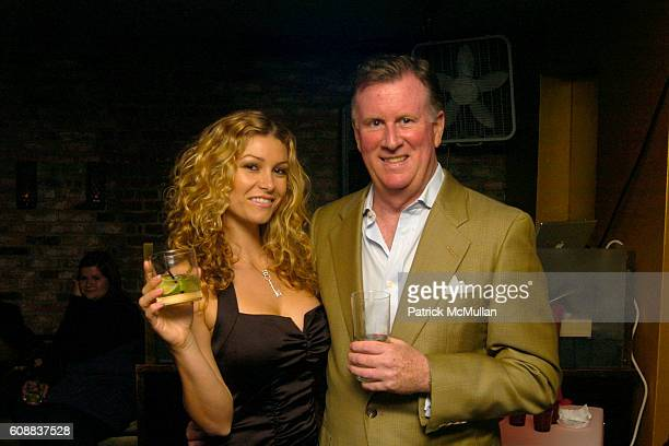 Heather Vandeven and Joe Delaney attend Drambuie Den Event with Special Guest Heather Vandeven at Level V on October 22 2007 in New York