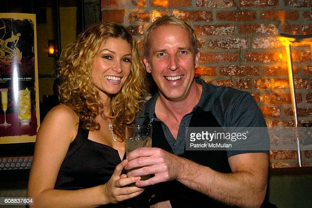 Heather Vandeven and Matt Gorski attend Drambuie Den Event with Special Guest Heather Vandeven at Level V on October 22 2007 in New York