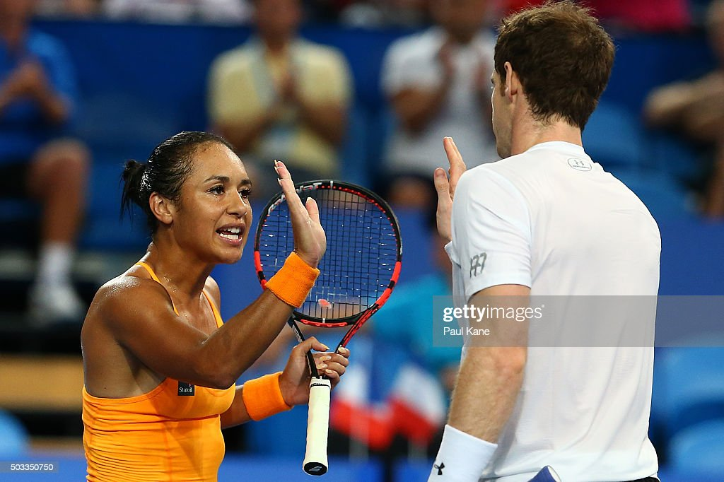 2016 Hopman Cup - Day 2 : News Photo
