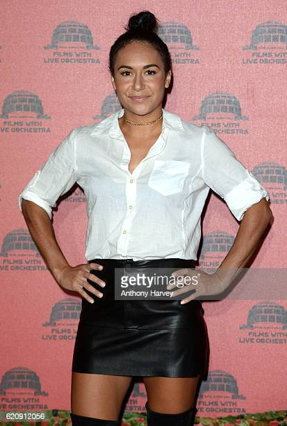 Heather Watson attends Jurassic Park Live at the Royal Albert Hall on November 3 2016 in London England