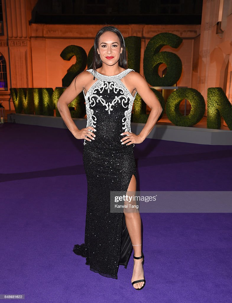 Heather Watson attends the Wimbledon Winners Ball at The Guildhall on July 10, 2016 in London, England.