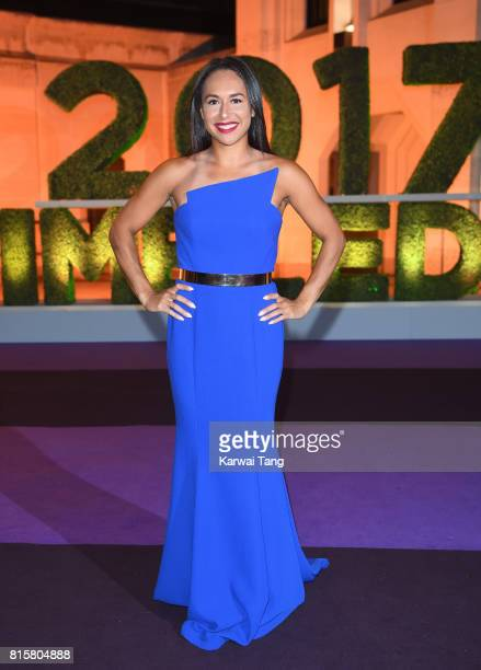 Heather Watson attends the Wimbledon Winners Dinner at The Guildhall on July 16 2017 in London England