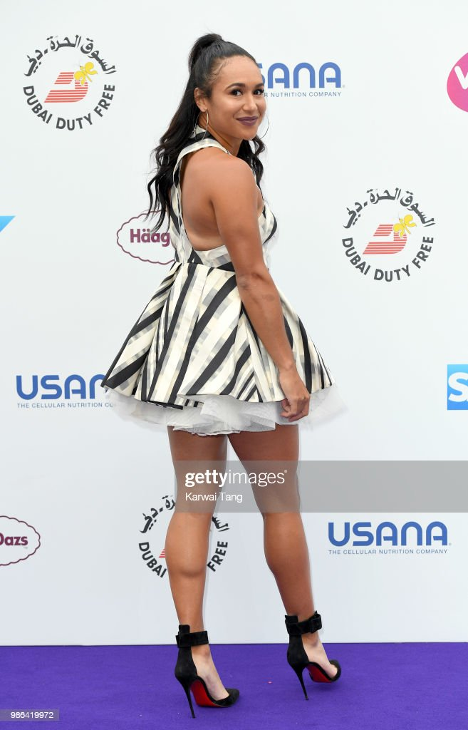 Heather Watson attends the WTA's 'Tennis On The Thames' evening reception at Bernie Spain Gardens South Bank on June 28, 2018 in London, England.