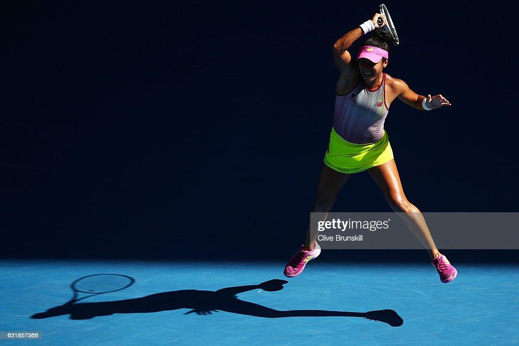 2017 Australian Open - Day 2 : News Photo