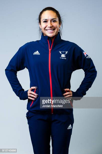 Heather Watson of Great Britain poses for a portrait during the Fed Cup Media Day on February 2 2018 in London England