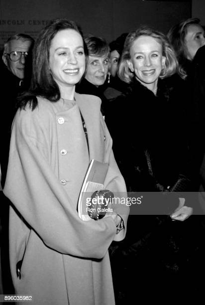 Heather Watts and Anne Bass attend American Ballet Theater 50th Anniversary Benefit on January 14 1990 at Lincoln Center in New York City