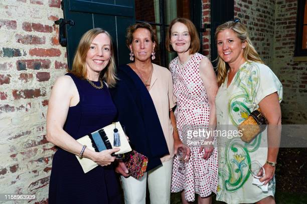 Heather Whitman Helen Bonebrake Louise Parent and Kristen Fisher attend A Country House Gathering To Benefit Preservation Long Island on June 28 2019...