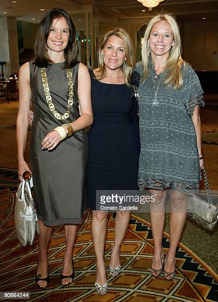 Heather Whitney , Jenny Belushi and Shannon Rotenberg attend the Saks Fifth Avenue presents Oscar De La Renta Fall 2008 Collection at the Annual...