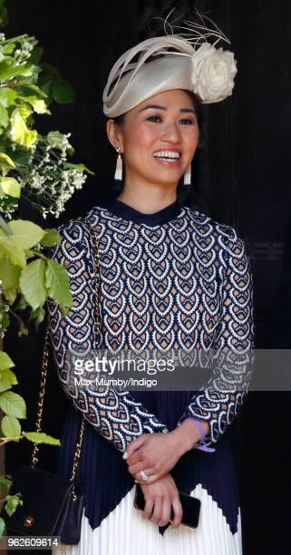 Heather Wong attends the wedding of Prince Harry to Ms Meghan Markle at St George's Chapel Windsor Castle on May 19 2018 in Windsor England Prince...