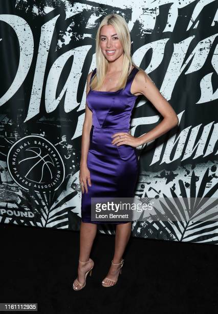 Heather Young attends Players' Night Out 2019 hosted by The Players' Tribune featuring the NBPA's Players' Voice awards at The Dream Hotel on July 09...