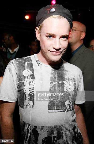 Heatherette's Richie Rich attends a screening of Margaret Cho's 'The Cho Show' at Le Royale on August 13 2008 in New York City