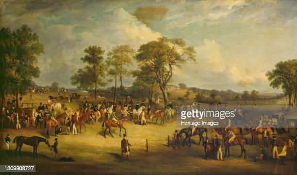 Heaton Park Races, 1829. Artist John Ferneley. .