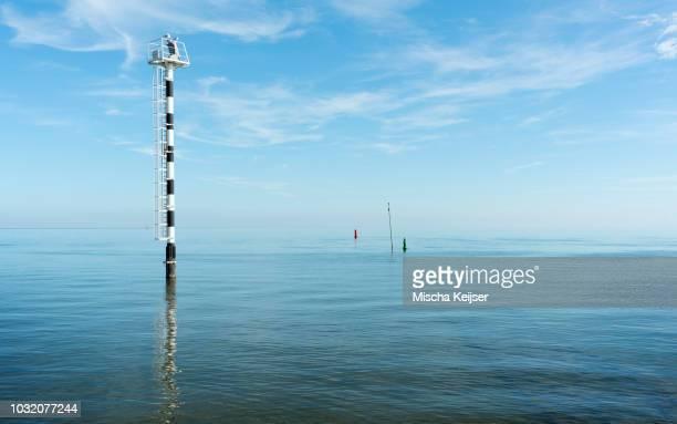 Heatwave, Wadden Sea, Netherlands