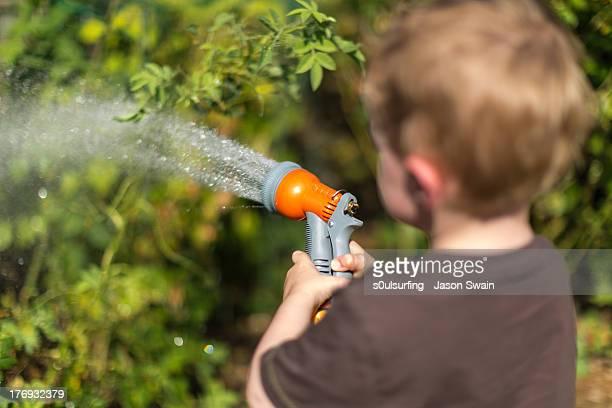 Heatwave - Watering the Garden