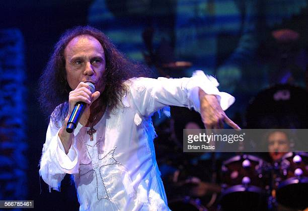 Heaven And Hell In Concert At Wembley Arena London Britain 10 Nov 2007 Ronnie James Dio Heaven And Hell