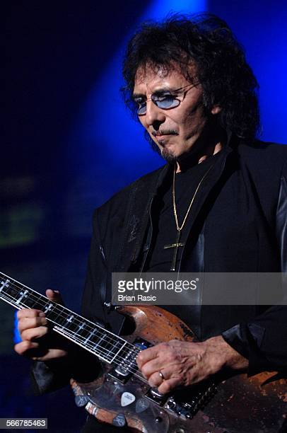 Heaven And Hell In Concert At Wembley Arena London Britain 10 Nov 2007 Tony Iommi Heaven And Hell