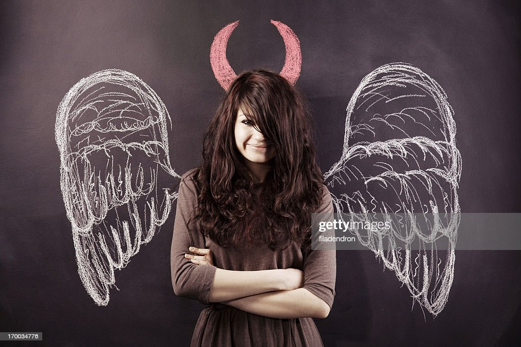 Heaven and Hell : Stock Photo