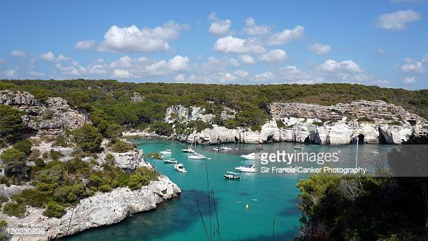 heaven on earth - macarella & macarelleta beaches - カラマカレラ ストックフォトと画像