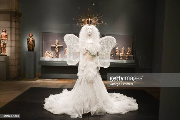 Heavenly Bodies: Fashion & The Catholic Imagination Costume Institute Gala Press Preview at The Metropolitan Museum of Art on May 7, 2018 in New York...