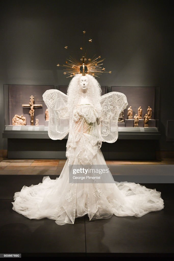 Fashion & The Catholic Imagination Costume Institute Gala Press Preview at The Metropolitan Museum of Art on May 7, 2018 in New York City.