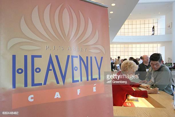 Heavenly Cafe banner.