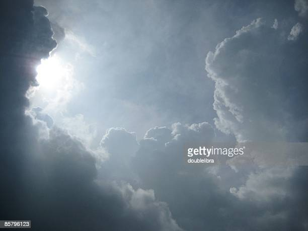 heavenly drama - heaven stock pictures, royalty-free photos & images