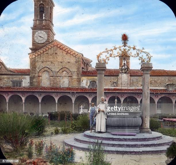 Heavenly peace prevails in the situated on a wooded height Carthusian monastery where an hour from Florence remote wild and oddly shaped Tale of Ema...