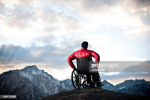 heavens - wheelchair stock photos and pictures