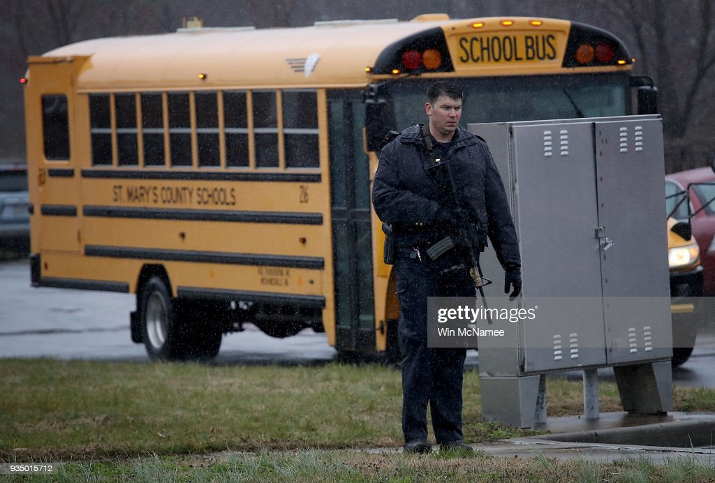 Gunman Dead In Maryland High School Shooting