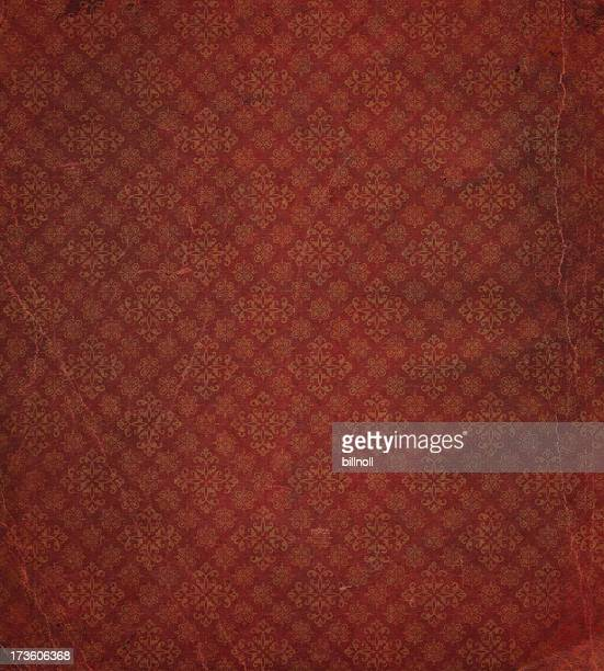 heavily distressed wallpaper pattern - ancient stock pictures, royalty-free photos & images