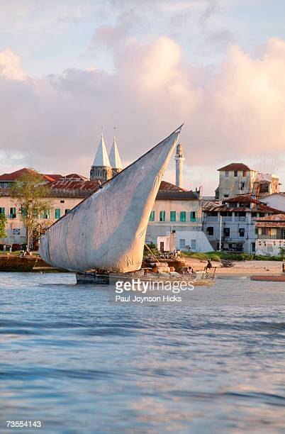 Heavily Laden Dhow