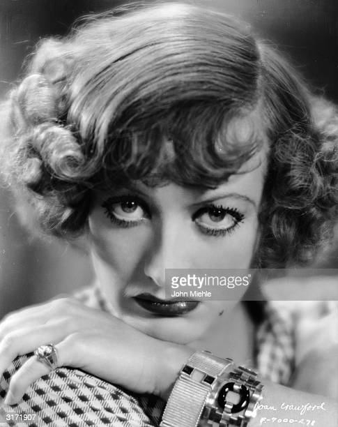 A heavily madeup Joan Crawford plays the glowering Sadie Thompson in 'Rain' an early talkie directed by Lewis Milestone