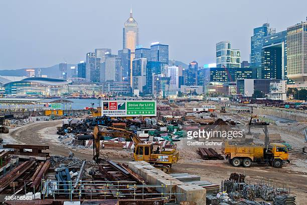 CONTENT] Heavy construction equipment prior to the skyline Large cities such as Hong Kong continues to grow despite its enormous population Country...