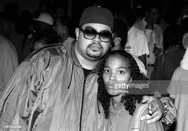 """Heavy D and Isisattend an album-release party for A Tribe Called Quest's """"The Low End Theory"""" on September 16, 1991 in New York City."""