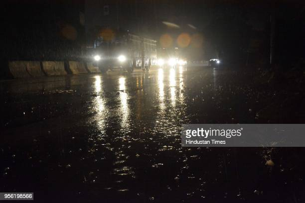 Heavy duststorm was followed by heavy spell of rain on May 8 2018 in Ghaziabad India Dust storms rain and thunder lashed out in parts of northern...