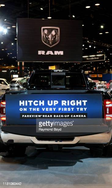 Heavy Duty Flatbed is on display at the 111th Annual Chicago Auto Show at McCormick Place in Chicago, Illinois on February 8, 2019.