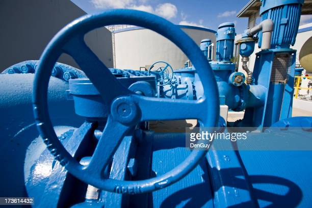 Heavy Duty Wheels and Pumps in Water Purification Plant