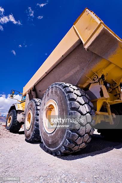 Heavy Equipment Dump Truck