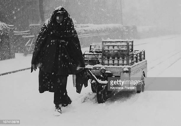 Heavy Fall Of Snow In Manchester In United Kingdom On December 4Th 1946