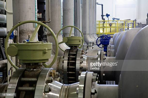 Heavy Industry Conduits, Valves and Transfer Pipes