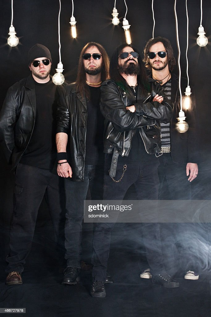 Heavy Metal Band : Stock Photo